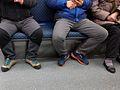 Manspreading in Korea Busan Metro.jpg