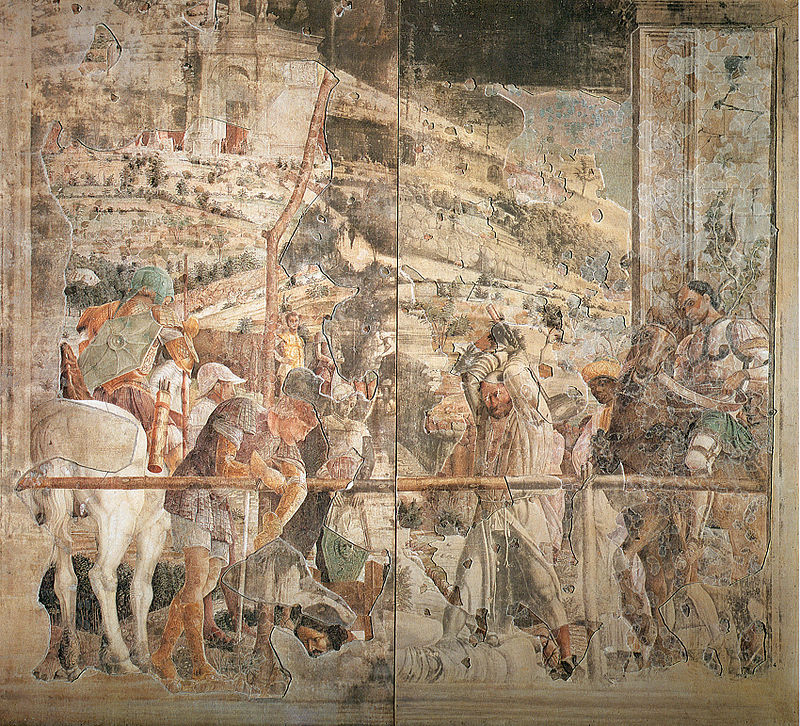 Ca s'est passé en septembre ! 800px-Mantegna%2C_martirio_di_san_giacomo%2C_situazione_attuale