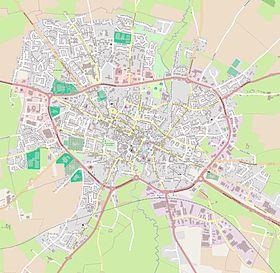 Bayeux Plan De Ville