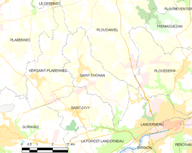 Map commune FR insee code 29268.png