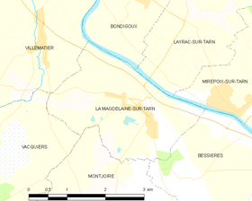 Map commune FR insee code 31311.png