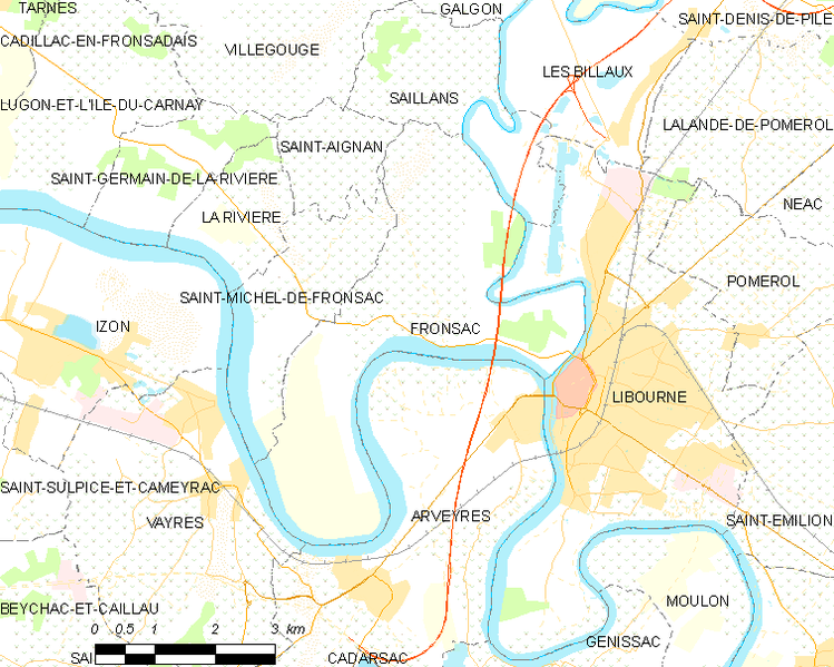 File:Map commune FR insee code 33174.png