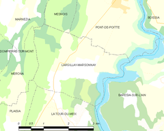Map commune FR insee code 39278.png
