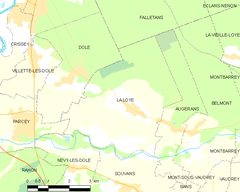 Map commune FR insee code 39305.png