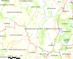 Map commune FR insee code 71558.png