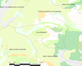 Map commune FR insee code 73318.png