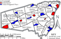 Map of Snyder County Pennsylvania With Municipal and Township Labels.png