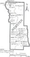 Map of Webster Parish Louisiana With Municipal and District Labels.PNG