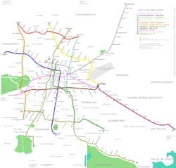 Map of the STC Metro of Mexico City (English).png