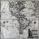 Mapa de América. Ca. 1770