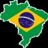 Mapa do Brasil com a Bandeira Nacional.png