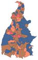 Mapa do resultado do primeiro turno da eleição suplementar para governador de Tocantins em 2018.png