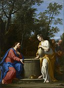 Marcantonio Franceschini - Christ and the Woman of Samaria - Google Art Project.jpg