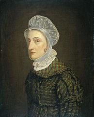 Portrait of Maria Petronella Mann, Wife of Heinrich Gottfried Theodor Crone