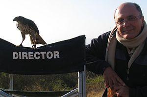 Mario Andreacchio - Mario Andreacchio on set in South Africa