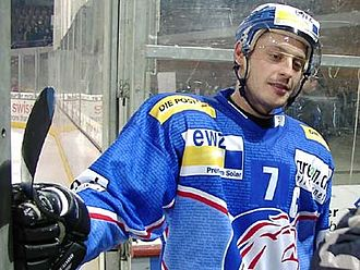 Mark Streit - Streit while with the ZSC Lions in 2006.