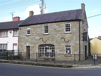 Blacklion - The Market House, one of the oldest buildings in the village, is now home to a tourist information centre.
