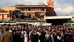 Marrakech Bombing Site Late in the Day.jpg