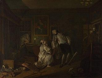 Marriage A-la-Mode (Hogarth) - 5. The Bagnio
