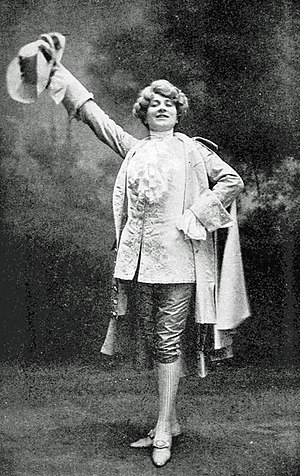 Chérubin - Mary Garden in the title role in the premiere
