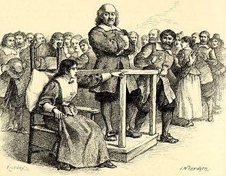 Mary Walcott - Walcott at the Salem witch trials