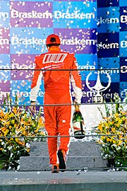 Photo de Felipe Massa au Brésil en 2008