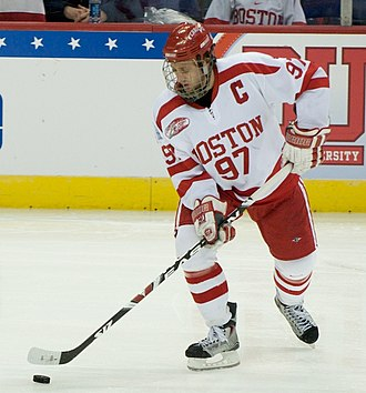 Boston University Terriers men's ice hockey - 2009 Hobey Baker winner Matt Gilroy