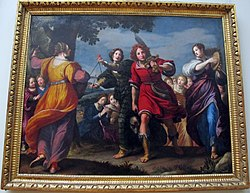 Matteo Rosselli: The Triumph of David