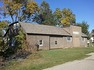 National Register of Historic Places listings in Marshall County, Iowa - Image: Matthew Edel Blacksmith Shop 07