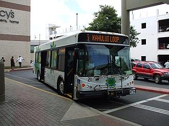Maui Bus - Image: Maui Bus EZ Rider II
