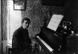 1912 in music - Maurice Ravel in 1912