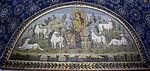 Mausoleo di galla placidia, int., buon pastore 03.jpg