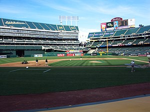 Dallas Braden's perfect game - Oakland–Alameda County Coliseum in Oakland, California was the site of Braden's perfect game.