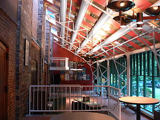 McCarter Theatre - Foyers of McCarter Theatre