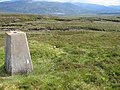 Meall Breac trig point S9402 - geograph.org.uk - 496429.jpg