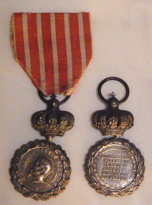 Commemorative medal of the 1859 Italian Campaign - Commemorative medal of the 1859 Italian Campaign, crowned variant