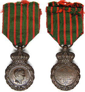 Image illustrative de l'article Médaille de Sainte-Hélène