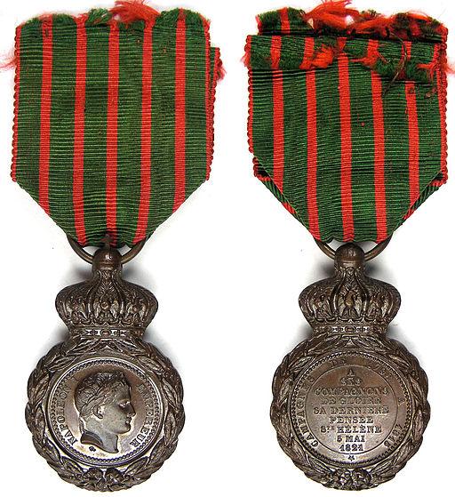 Medaille sainte helene 1857