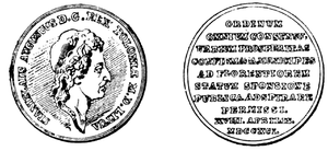 Royal city in Poland - Medal commemorating the Law on the Cities