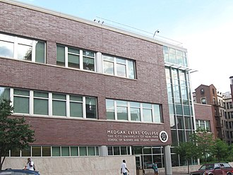 "Medgar Evers College - The ""S"" Building"