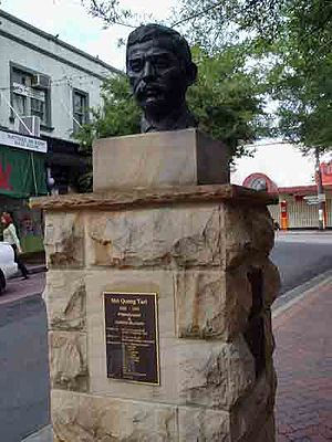 Mei Quong Tart - Bust of Quong Tart near Ashfield train station