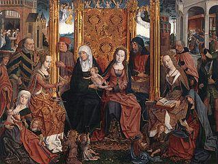 Ołtarz Rodziny Marii (dzieło Mistrza Rodziny Marii Młodszego)