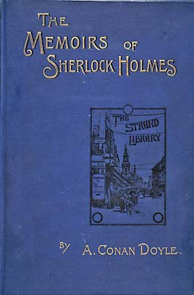 Picture of a book: The Memoirs Of Sherlock Holmes