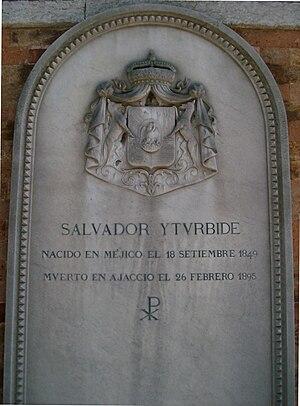 Salvador de Iturbide y Marzán - Image: Memory to Salvador de Iturbide y Marzán