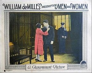 Men and Women (1925 film) - Lobby card