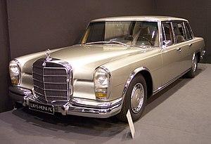 Mercedes-Benz 600 - Image: Mercedes Benz 600 vl silver TCE