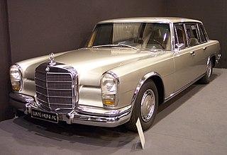 Mercedes-Benz 600 car model