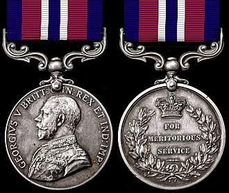 Meritorious Service Medal (South Africa) - Image: Meritorious Service Medal (South Africa) George V