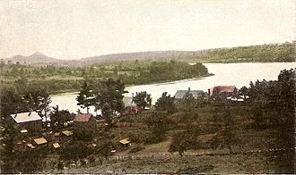 Merrimac, Massachusetts - Merrimacport village in 1911