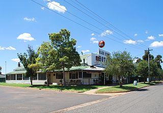 Merriwagga Town in New South Wales, Australia